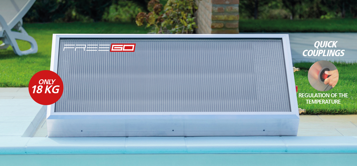 Freego, the world's most compact and lightest solar water heater - Pleion