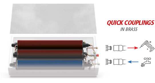 FreeGO - QUICK COUPLINGS