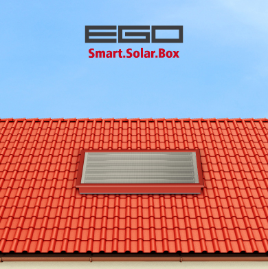 EGO IN TILE RED COLOR | PLEION SOLAR THERMAL
