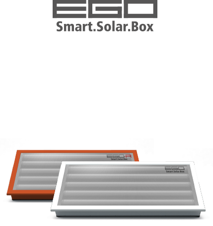 The new EGO Smart.Solar.Box ready to use, all in a box!